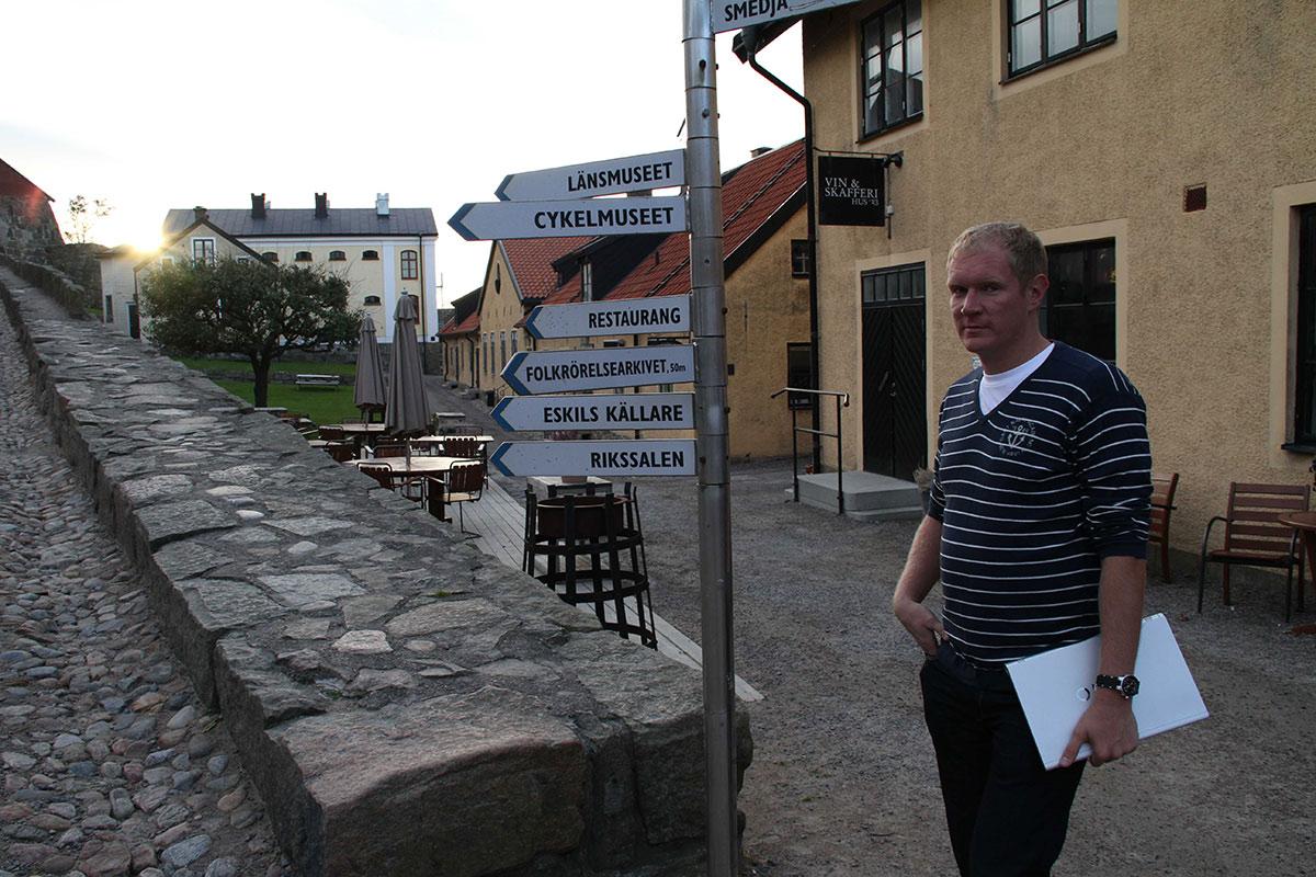 Леонид Бугаев в Швеции