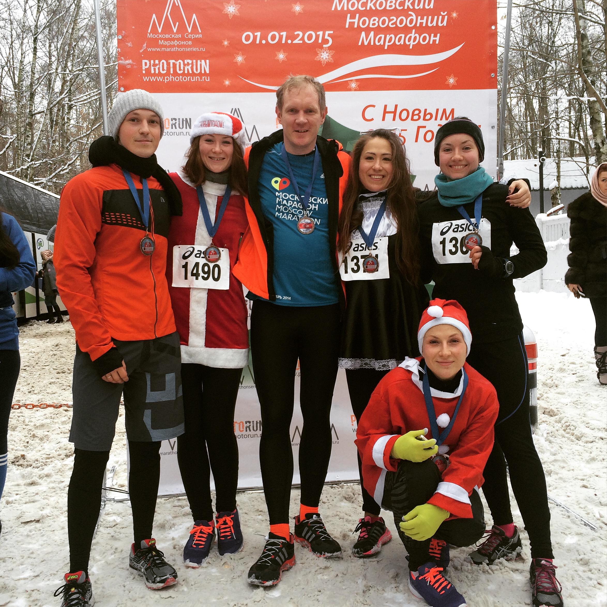 Леонид Бугаев - марафон